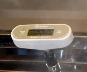 Magic Temp for making maple syrup