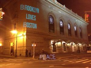 NYC Light Brigade post shared by Uli Thomann