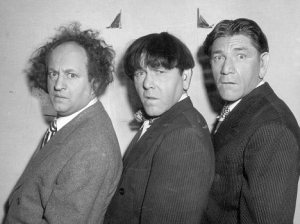 Shemp and the other two Stooges