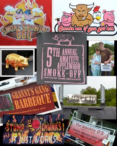 BBQ Blog pics Name collage
