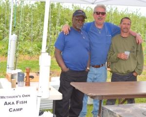 Trio of Taste at the Fish Camp