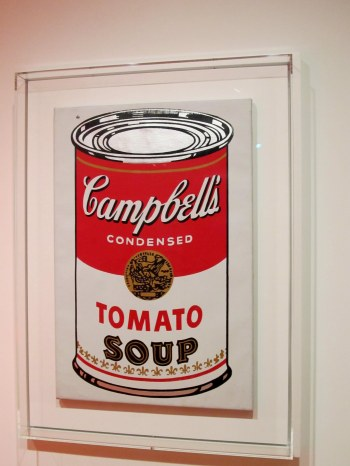 WAM Warhol is much larger than I thought