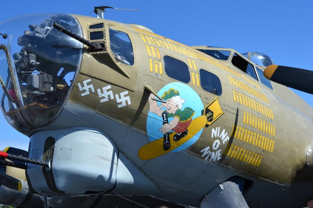 The plane Tom Hanks flew on