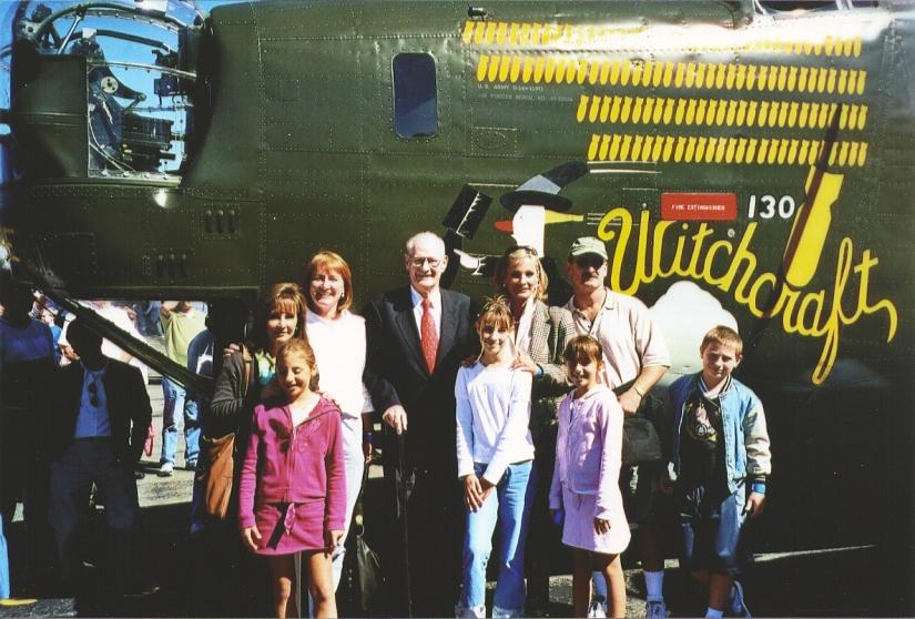 Several years ago my father (with family) revisits plane he actually trained on during WW2. We sent my brother and him up for a ride. It was not inexpensive.