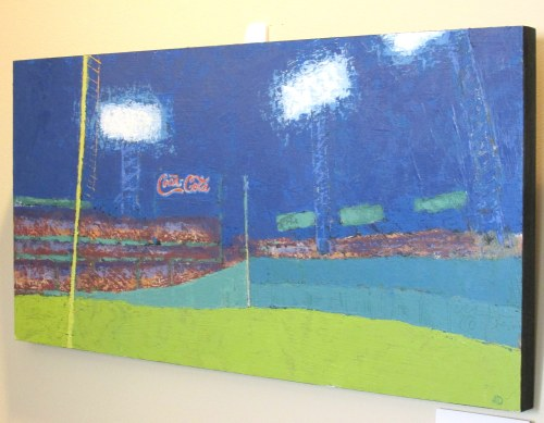 Fenway Park (home of the 2013 World Series Winning Team - the Red Sox)  by Ann Trainor Domingue