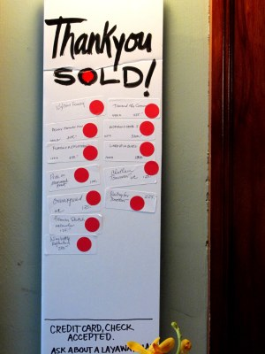 By noon on Saturday the Sale chart looked like this, and 10% of proceeds were for NH Make A Wish Foundation