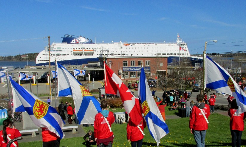 Nova Star Arrives in Yarmouth NS from Portland ME May 15 2014