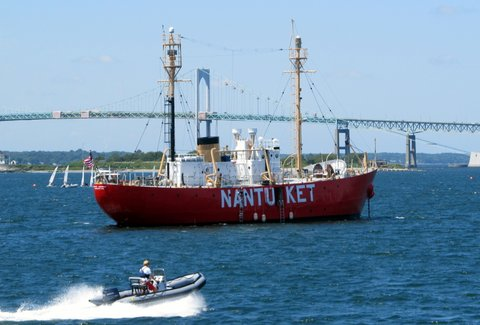 Nantucket Lightship in Rhode Island