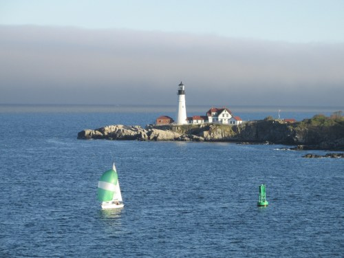 Portland Head Light From Nova Star Ferry 2014