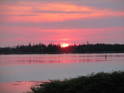 Sunset at Ye Olde Argyler