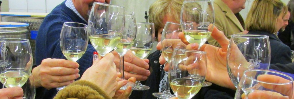 Wine tasting through Annapolis Valley