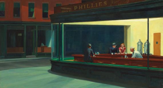 """Edward Hopper's """"Nighthawks"""""""
