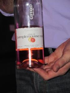 Creme de Pamplemousse Rose Grapefruit cordial