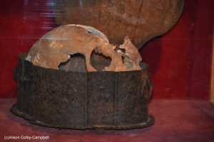 Is this the skull of a crew member on Christopher Columbus' ship