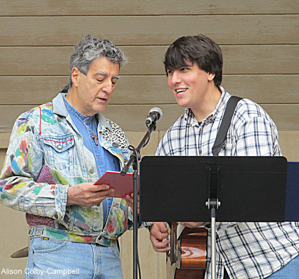 IMG_3814 Topsfield Fair 2015 Cool things Rolan singing at Topsfield Fair Service