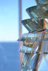 Photo by Alison Colby-Campbell 4th order Fresnel from Owl Head Light in ME