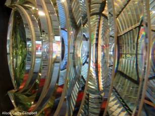 Lens at Halifax Nova Scotia Maritime Museum