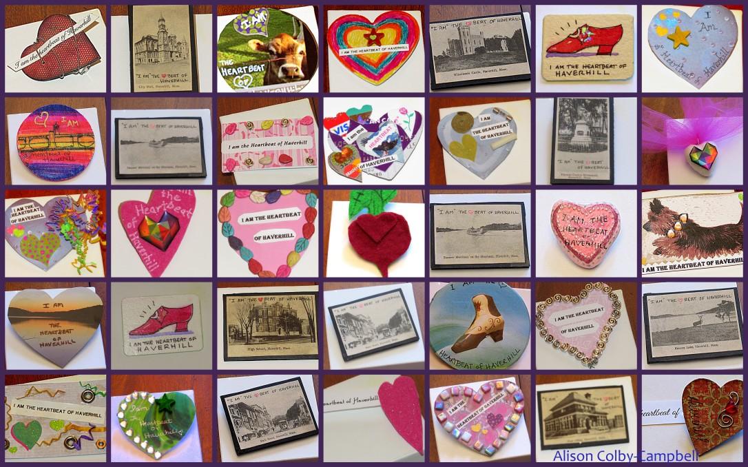 Haverhill THOH pin collage