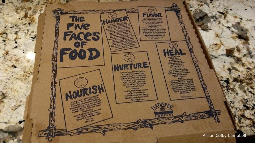 Flatbread Pizza Georgetown box