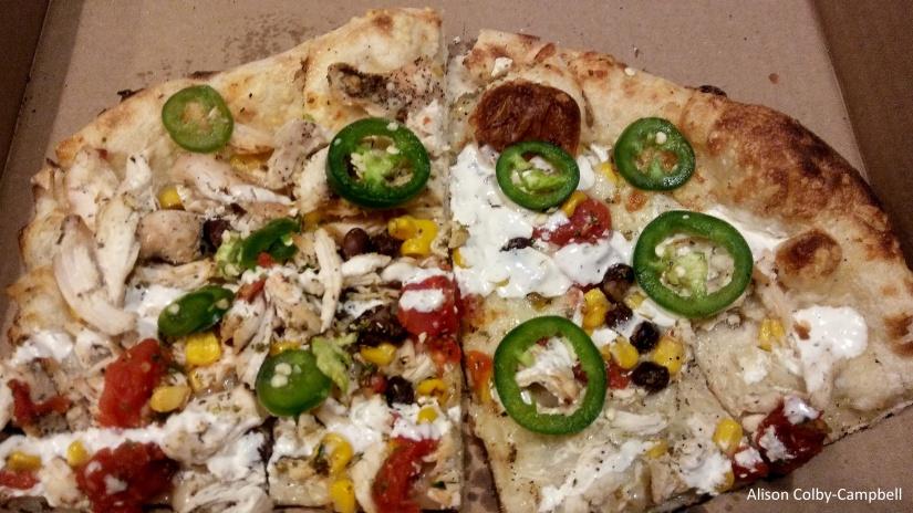 Flatbread Pizza Georgetown pizza slice