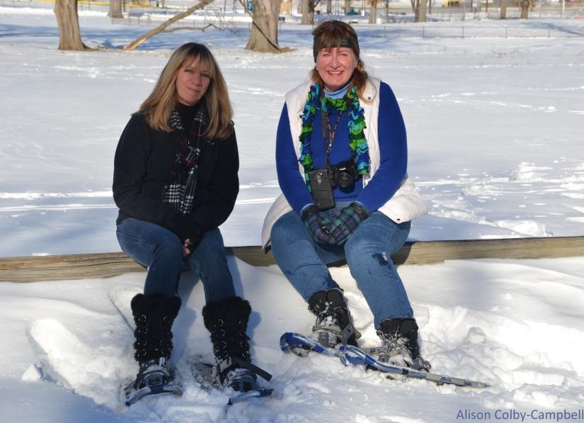 DSC_3705 Haverhill Riverside Park Snow Shoeing Cindy Lee Hutchinson